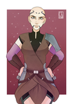 [SW Postcard] - Ventress by Chyche