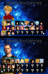 Deep Space: Cosmic Clash |Character Selection| by ThePuppetReturns