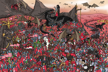 Welcome to the Dustlands - Where is Wally? by Shabazik