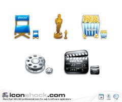 Cinema Sigma Icons for WIN by Iconshock