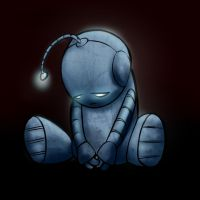 Lil Sad Bot by Elvillada