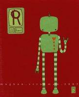 R is for Robot by renton1313