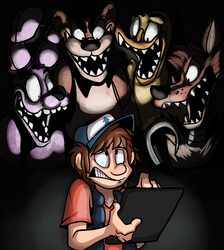 Five Nights at Gravity Falls by FatalSyndrome
