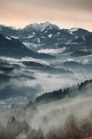 Glowing Alps by Rincewind2106