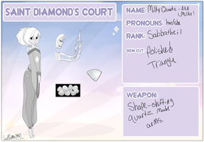 Saint Diamond S Court   Application By Cristal Tea by CupCakes0987