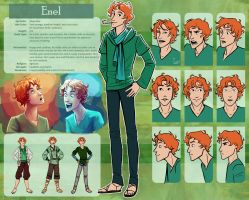 The Silver Eye - Enel Character Sheet by LauraHollingsworth