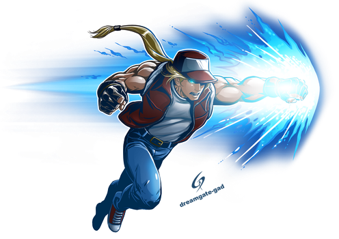 TERRY BOGARD by Gad by Dreamgate-Gad