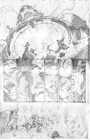 X-Men Sample Page by nick-axe