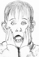 Home alone pen sketch by LaYoosh