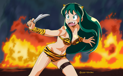 Lum Attacks by Glee-chan