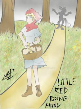 Little Red Riding Hood by nap1991