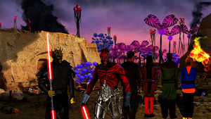 Star Wars The Clone Wars:slaughter of the innocent by darthnito