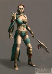 Character Design: American Gladiator by ndhill
