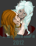WIP Khendar Arasgain and Hexzel Evri by StarkindlerStudio
