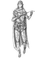 [COMMISSION] Elf Rogue by s0ulafein
