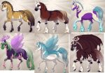 Horse fantasy adoptable 2 More Available by funnymady29