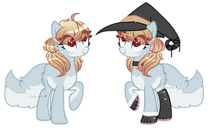 Witchy Cat Pone Adopt | CLOSED by pandafacebear