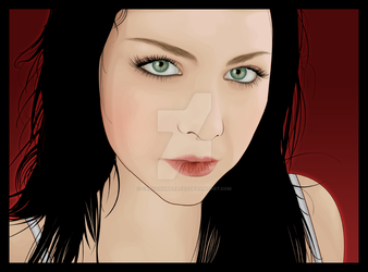 Amy Lee by carolinabarajas