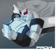 Prowl Bust quick colors by JavierReyes