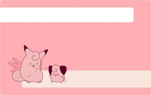 clefable cleffa background