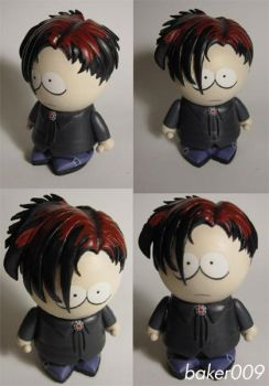 South Park Red Goth kid Pete by Baker009