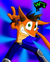Crash-The Basher-Bandicoot by Dr-Disappointment