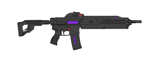 PL-85 Assault Rifle by trooperbeta
