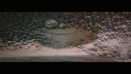 Cold planet realtime rendering test by GreenOfGray
