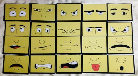 What's-Its-Face Cards by GoreyWriter
