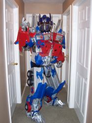 OPTIMUS PRIME 01 by TIMECON
