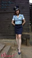 Jill Valentine RE3 Police Officer cosplay VI by Rejiclad