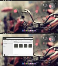 ~DeskBlack Bike LittleWoonderland by Little-Wonderland
