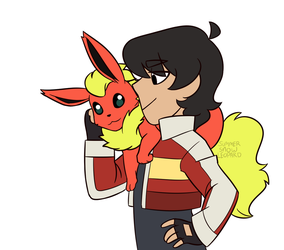 Pokemon AU 2 by summer-draws
