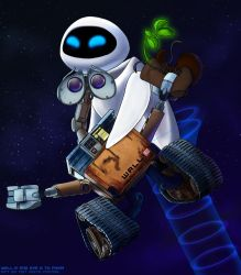WALL-E and Eve - Dancing? by Not-Quite-Normal