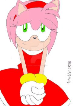 Amy Rose by peterbilt379388