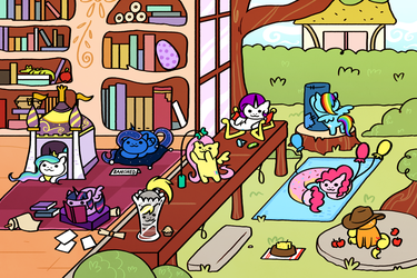 Equestria Atsume by SteveHoltisCool