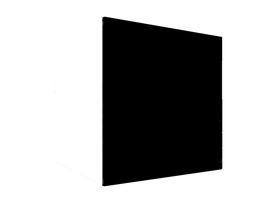 Square Cube png by mysticmorning