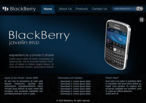Template: Blackberry by aremOgraphy