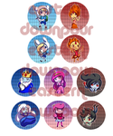 Adventure Time Buttons by khiro