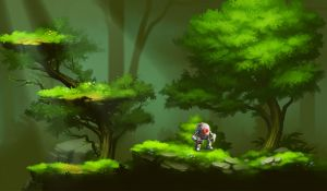 forestry mockup by st0ven
