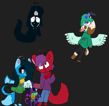 LOTS OF OCS!!!! This took for ever... by Lonniebunny13