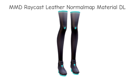 MMD Raycast Leather Normalmap Material DL by dokaa