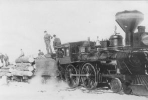 Inside-connected 4-4-0 in Wisconsin by PRR8157