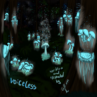 Voiceless book cover by waywardJellyfish