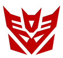 Shattered Glass Decepticon by JMK-Prime