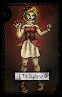 Steampunk Tarot The Experiment by TheBlindProphetess