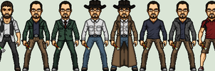 The Bishop's Outfits by SpiderTrekfan616