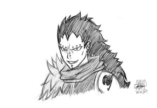 Gajeel Redfox by EED-Wolf