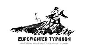 Eurofighter Typhoon Tribal comic by SANTAMOURIS1978