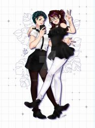 Commission: Xion and Melly by yamashyn